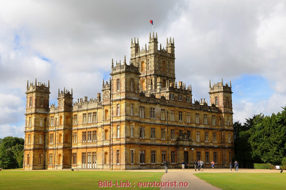 Downton Abbey Haus Downton Abbey, kr. 11.930,-, person v/min. 40 betalende deltagere 5 Befriedigend Downton Abbey Haus