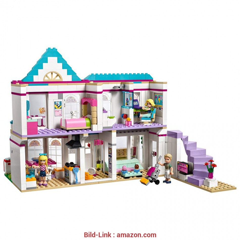 Lego Friends Haus Amazon.com: LEGO Friends Stephanie's House 41314, for 6-12-Year-Olds: Toys & Games 3 Quoet Lego Friends Haus