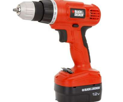 Black And Decker BLACK+DECKER 12-Volt NiCd Cordless, in. Drill with Soft Grips with Battery 1.5Ah, Charger BLACK+DECKER 12-Volt NiCd Cordless, in. Drill with Soft Grips with Battery 1.5Ah, Charger