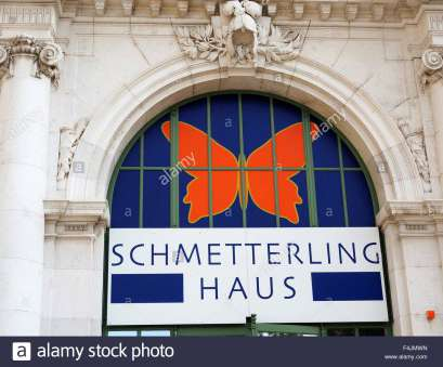 Haus Butterfly Quoet Schmetterling Haus Or Butterfly House Vienna, Austria., Stock Image