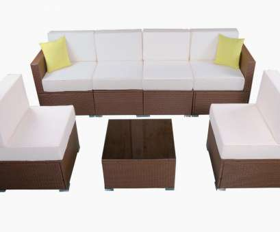 Rattan Couch MCombo Patio furniture sectional Sets Wicker Rattan Couch Sofa Chair Luxury, Size 7 PC 0 4 Oben Rattan Couch