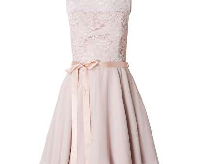 Swing Cocktailkleid SWING Cocktailkleid, Chiffon, Spitze in Rosé online kaufen (9790086), P&C Online Shop 4 Perfekt Swing Cocktailkleid