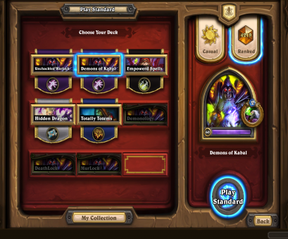Warlock Deck And since a, of, guys asked, it, i decided to make a quick guide about it with strategy, mulligan options, matchups. So...let's, started: Warlock Deck Friedlich And Since A, Of, Guys Asked, It, I Decided To Make A Quick Guide About It With Strategy, Mulligan Options, Matchups. So...Let'S, Started: