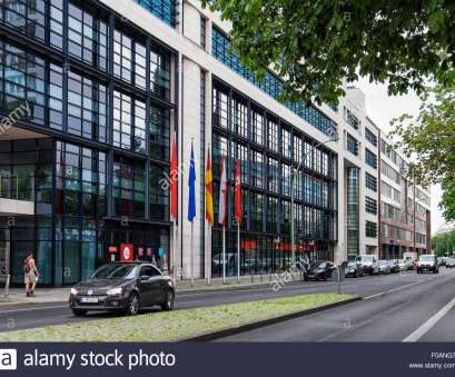 Willy Brandt Haus Berlin Berlin Willy-Brandt-Haus exterior, Willy Brandt House, offices, modern limestone, glass building in Kreuzberg 4 Regulär Willy Brandt Haus Berlin