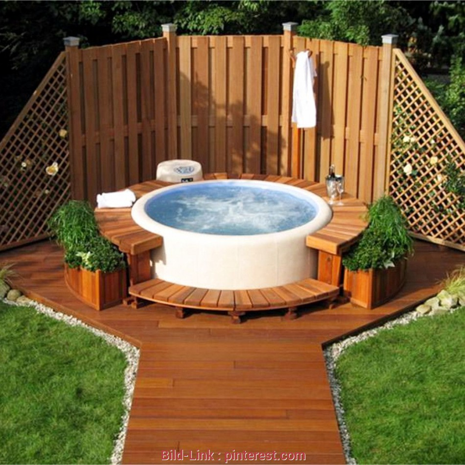 Whirlpool Garten above ground, tub ideas, your backyard this design idea works great, a